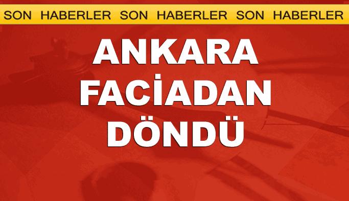 Ankara'da büyük bir facia önlendi; canlı bombalar kendini patlattı