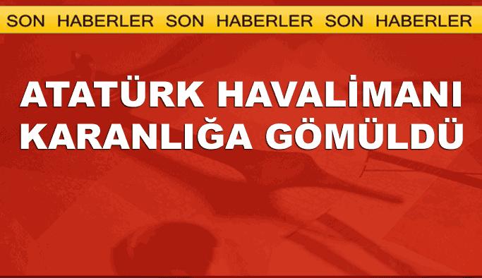 Atatürk Havalimanı'nda elektrikler kesildi