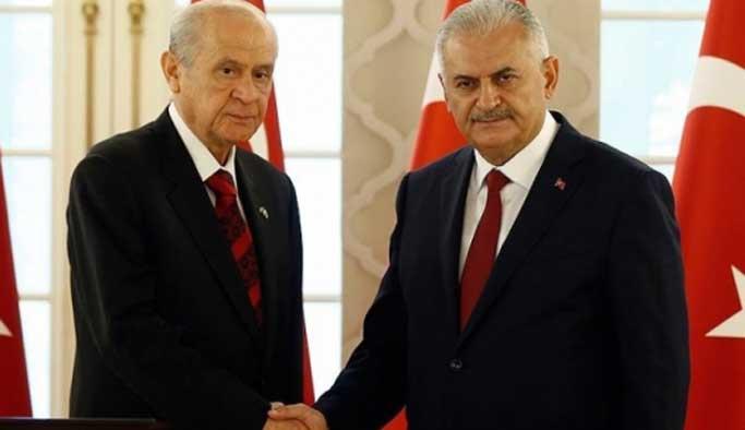 Başbakan Yıldırım yarın Bahçeli ile görüşüyor