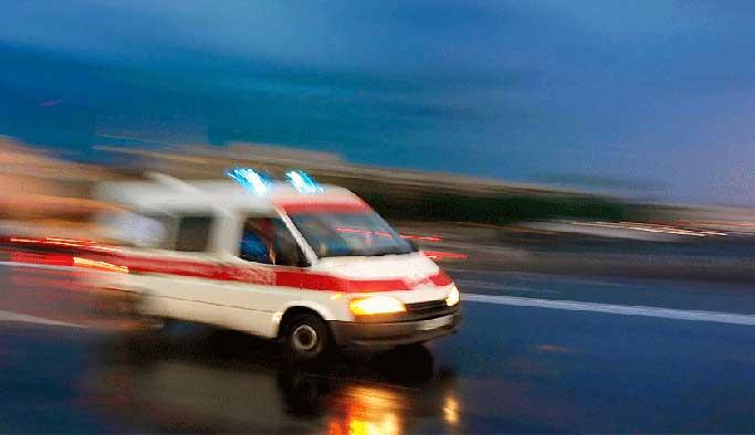 Tekirdağ'da trafik kazası, 3 yaralı