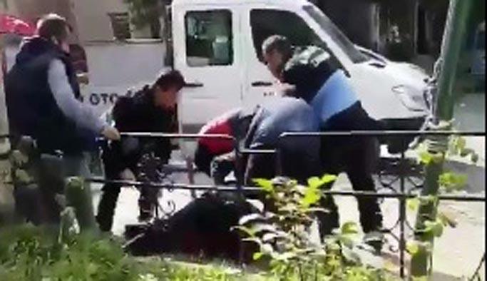 Bir zabıta şiddeti de Kadıköy'de