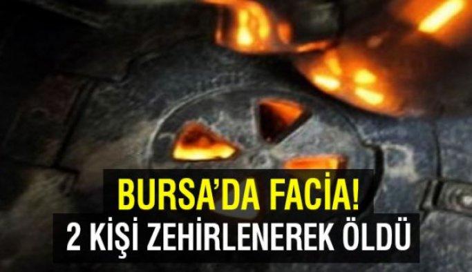 Bursa'da karbonmonoksit zehirlenmesi: 2 ölü
