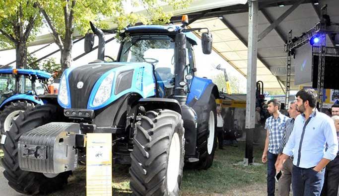 Bursa fuarında 1 milyon liralık traktör