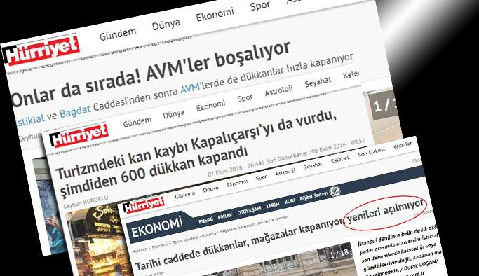 CHP ve Hürriyet'ten 'Ekonomik darbe girişimine' hizmet