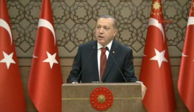 Erdoğan: Artık bataklığı kurutma zamanı CANLI