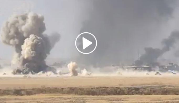 Musul'da DAEŞ'ten tankların arasına 'kamikaze' dalışı