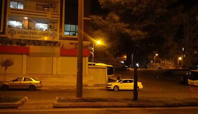 Diyarbakır'da HDP binalarında arama