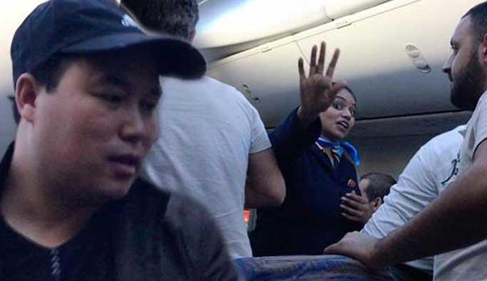 Dubai-İstanbul uçağında 'Çinli hırsız' vakası