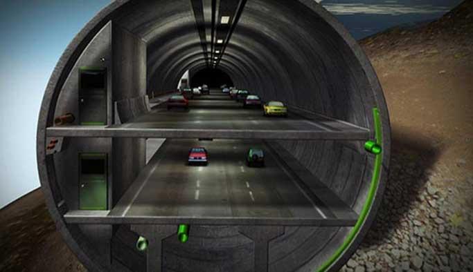 Erdoğan, Avrasya Tüneli'nden geçecek