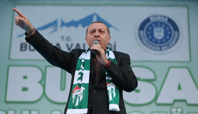 Erdoğan: Bu sınırları isteyerek kabul etmedik