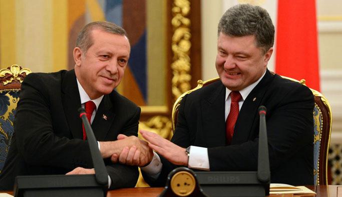 Erdoğan ile Poroşenko telefonda görüştü