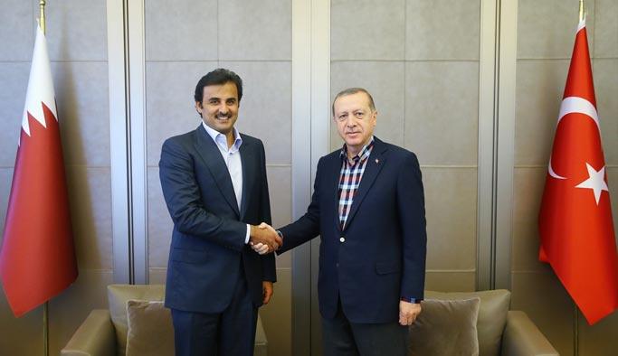 Erdoğan, İstanbul'da El Sani ile görüştü