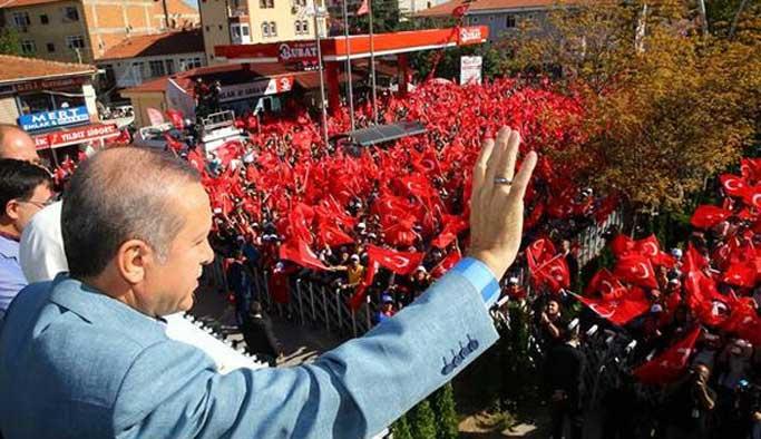 Erdoğan: Ne kıskanıyorsunuz?