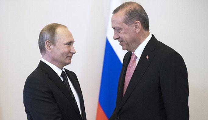 Erdoğan-Putin görüşmesinin gündemi açıklandı