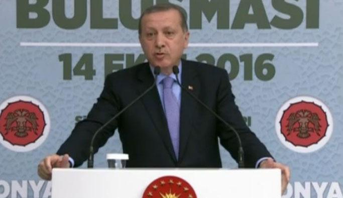 Erdoğan: Türkiye sen çık dediğinde çıkacak ülke değil