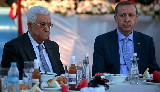 Mahmud Abbas Ankara'da