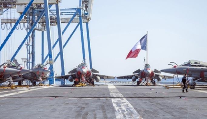 Fransa Musul bahanesiyle savaş gemisi gönderdi