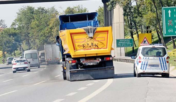 FSM'den vazgeçmeyen kamyonculara önlem