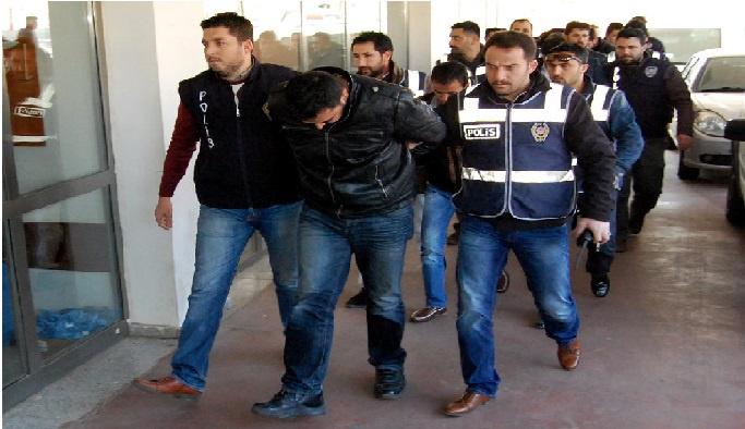 Gaziantep'te 19 gözaltı