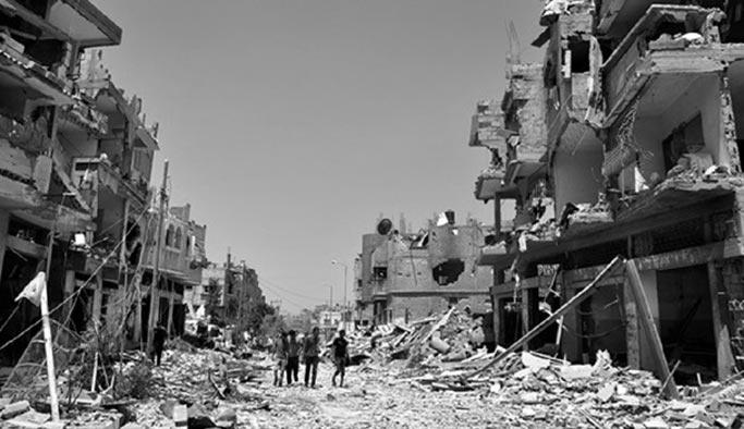 İsrail'in yıktığı Gazze'yi Suudi Arabistan onaracak