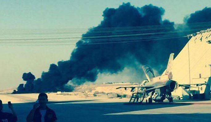 Gazze'yi bombalayan İsrail savaş jeti düştü