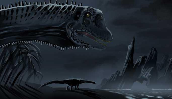 Gobi Çölü'nde titanozora ait ayak izi keşfedildi
