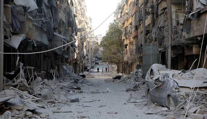 Halep'teki saldırıları Çorum'da protesto edildi