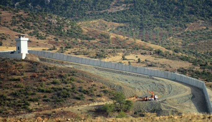 Hatay'dan Kilis'e kadar duvar inşaat tamamlandı