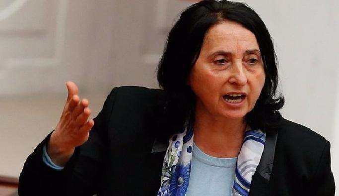 HDP'li vekil  terörist cenazesinde