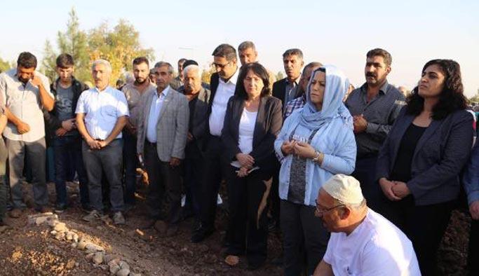 HDP milletvekilleri yine 'terörist cenazesi'nde