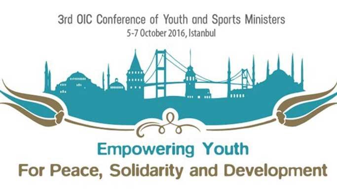 """""""İİT Gençlik ve Spor Bakanları 3. Konferansı"""" başladı"""