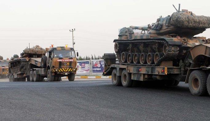 Irak sınırına yeni tank takviyesi