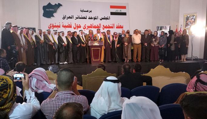 Iraklı aşiretlerden Bağdat'a Türkiye tepkisi