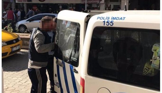 İzmir'de taciz gerilimi