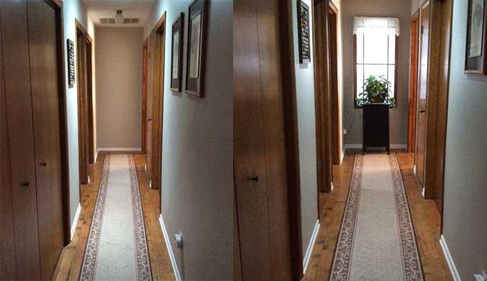 Karanlık koridora akıllı çözüm