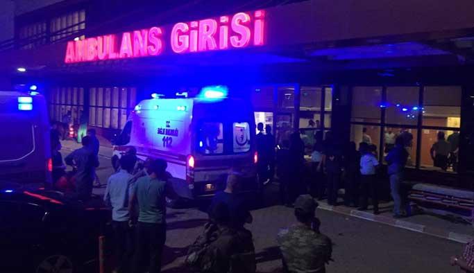 Kilis'teki roket mermisi imhasında yaralanan polis şehit oldu