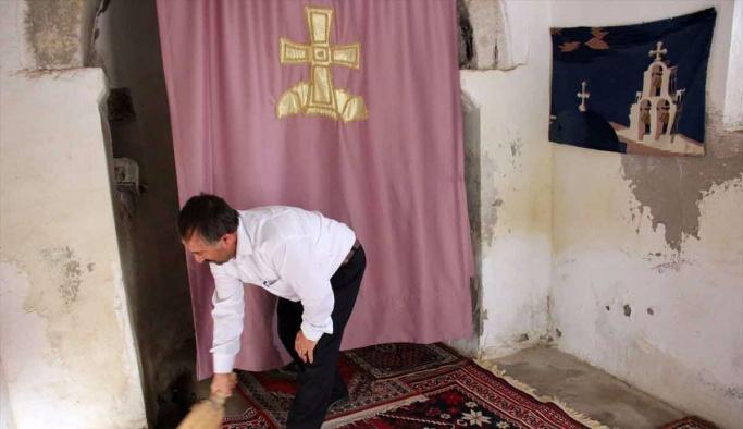 Kilise'nin temizlik ve bakımı imama emanet