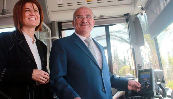Mersin'de toplu taşımada kredi kartı dönemi