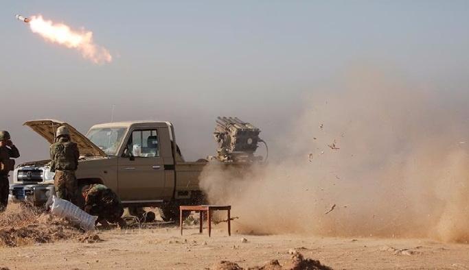 Musul'da 10 DEAŞ militanı öldürüldü