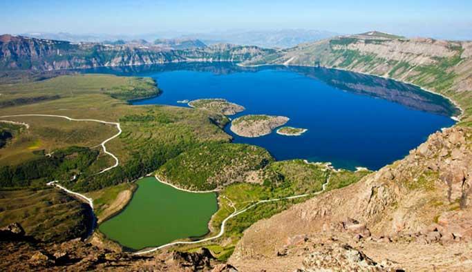 Nemrut Krater Gölü UNESCO Jeopark Ağı'na aday