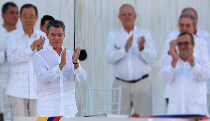 Nobel Barış Ödülü FARC barışına
