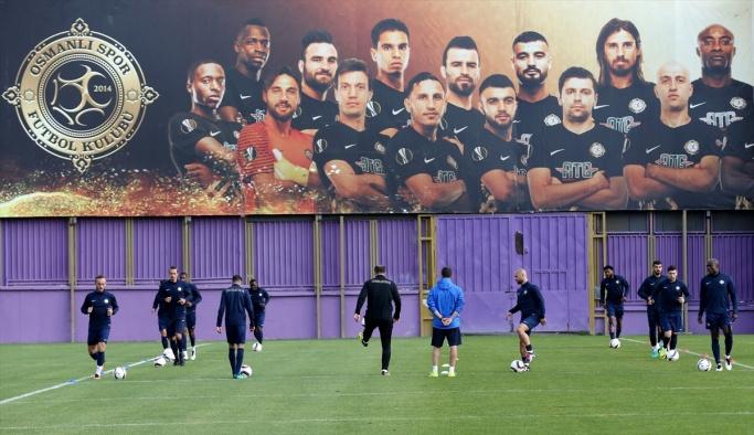 Osmanlıspor'da, Villarreal maçı hazırlıkları