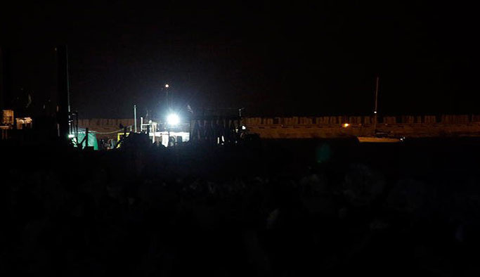 Özgürlük Filosu Aşdot Limanı'nda
