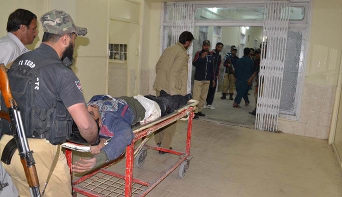 Pakistan'da kanlı saldırı: 59 ölü, 117 yaralı