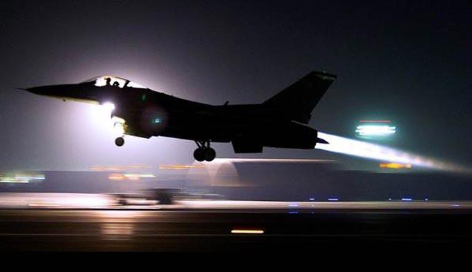 PKK kampları savaş jetleriyle vuruldu
