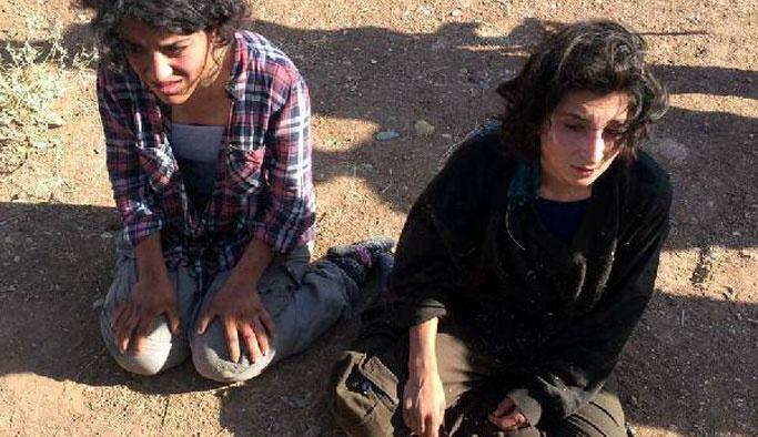 PKK'lı iki terörist minibüsün altında yakalandı