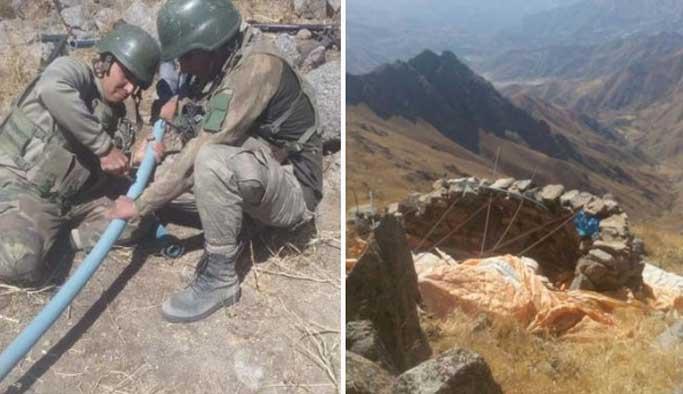 PKK'nın hortumları kesildi