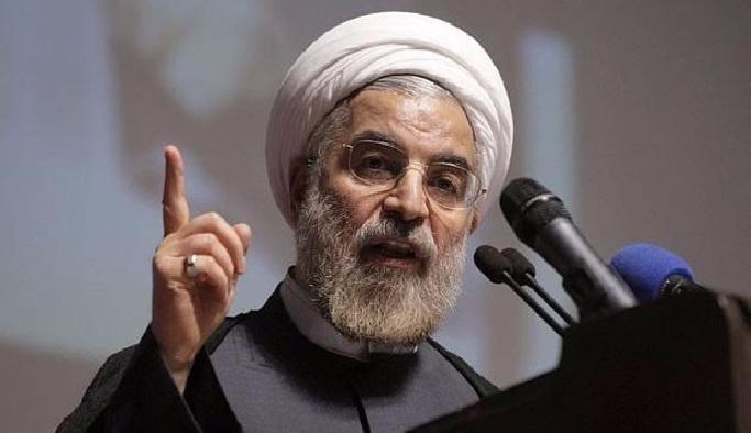 Devrim Muhafızları'ndan Ruhani'ye tepki
