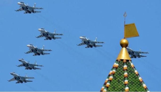 Rus ordusundan savaş tatbikatı