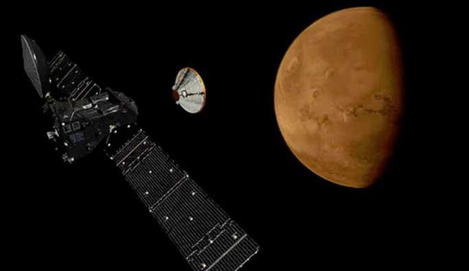 Rus uzay aracı Mars'a iniş yaptı